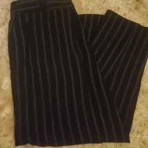 Professional stripped trousers